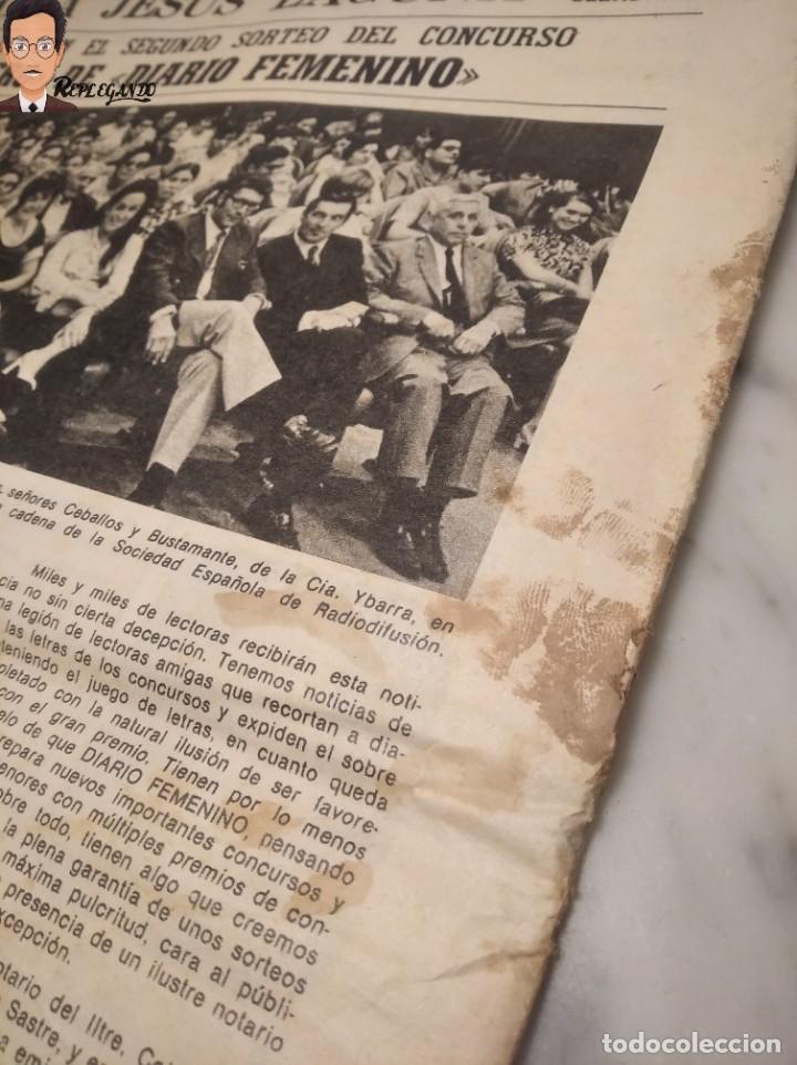Coleccionismo deportivo: VALENTINA TERESCHCOVA - DIARIO FEMENINO Nº 239 - (3 DE AGOSTO 1969) - GAVIOTA (AÑOS 60) - Foto 11 - 288927873
