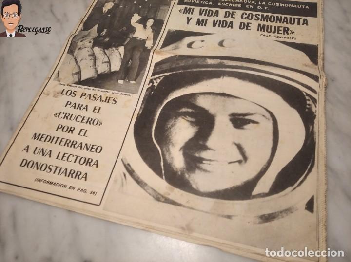Coleccionismo deportivo: VALENTINA TERESCHCOVA - DIARIO FEMENINO Nº 239 - (3 DE AGOSTO 1969) - GAVIOTA (AÑOS 60) - Foto 13 - 288927873