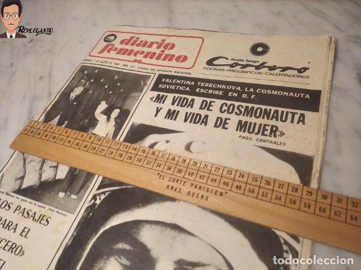 Coleccionismo deportivo: VALENTINA TERESCHCOVA - DIARIO FEMENINO Nº 239 - (3 DE AGOSTO 1969) - GAVIOTA (AÑOS 60) - Foto 14 - 288927873