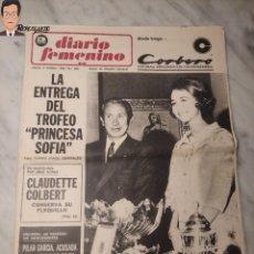 Coleccionismo deportivo: REINA SOFÍA - DIARIO FEMENINO Nº 290 - (2 DE OCTUBRE 1969) - (AÑOS 60) PRINCESA ESPAÑA - MONARQUÍA. Lote 288928293