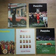 Coleccionismo deportivo: LOTE 5 REVISTA PANENKA, NÚMEROS 46, 80, 84, 85 Y 96 EL FUTBOL QUE SE LEE. Lote 288942593
