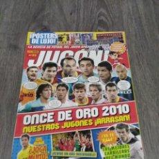 Coleccionismo deportivo: REVISTA JUGÓN ! N° 53.. Lote 288967233