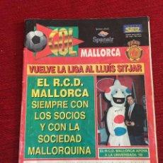 Coleccionismo deportivo: PROGRAMA OFICIAL REAL MALLORCA LEGANES LIGA TEMPORADA 1996 1997. Lote 289329278