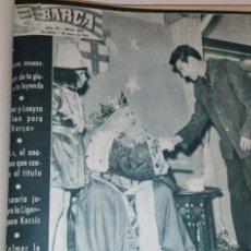 Coleccionismo deportivo: REVISTA BARÇA ENCUADERNADAS DEL Nº 212 AL 264 - AÑO 1960.. Lote 289355023