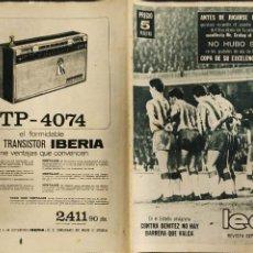 Coleccionismo deportivo: LEAN - Nº 456 - 25 MAYO 1964 - NO HUBO SORPRESAS EN LA COPA DEL GENERALISIMO -.. Lote 290062888