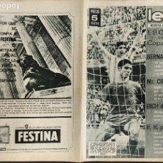 Coleccionismo deportivo: LEAN - Nº 454 - 11 MAYO 1964 - ESCANDALO EN TORNO A LA COPA DE EUROPA. Lote 290063388