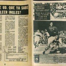 Coleccionismo deportivo: LEAN - Nº 453 - 4 MAYO 1964 - ESPAÑA BATIO A BRASIL EN LA COPA DAVIS -. Lote 290064078