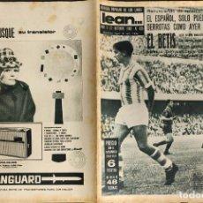 Coleccionismo deportivo: LEAN - Nº 425 - 21 OCTUBRE 1963 - EL ESPAÑOL SOLO PUEDE COSECHAR DERROTAS COMO AYER EN CORDOBA -. Lote 290064663
