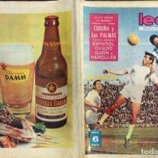 Coleccionismo deportivo: LEAN - Nº 452 - 27 ABRIL 1964 - LA LIGA TERMINO SIN SORPRESAS -. Lote 290071703