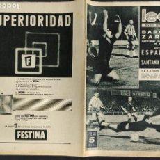 Coleccionismo deportivo: LEAN - Nº 457 - 1 JUNIO 1964 - BARCELONA ZARAGOZA SEMIFINAL COPA DE S.E. EL GENERALISIMO. Lote 290071933
