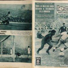 Coleccionismo deportivo: LEAN - Nº 461 - 29 JUNIO 1964 - TODOS LOS MALES DEL BARÇA AL DESCUBIERTO EN LA ROMAREDA. Lote 290072328
