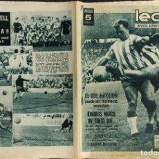 Coleccionismo deportivo: LEAN - Nº 459 - 15 JUNIO 1964 - EL GOL DEL GIJON PUEDE SER FACILMENTE REMONTADO -. Lote 290073218