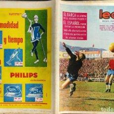 Coleccionismo deportivo: LEAN - Nº 450 - 13 ABRIL 1964 - EL BARÇA SE AFIRMA EN EL SEGUNDO PUESTO -. Lote 290076208