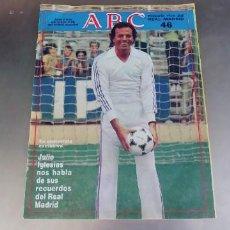 Coleccionismo deportivo: REVISTA ABC HISTORIA VIVA DEL REAL MADRID 46. Lote 290094533