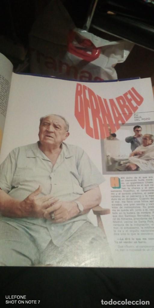 Coleccionismo deportivo: 2 REVISTAs LOS ESPAÑOLES Nº 28. MONOGRÁFICO DEDICADO AL REAL MADRID.y bernabeu numero 9 - Foto 4 - 290130603
