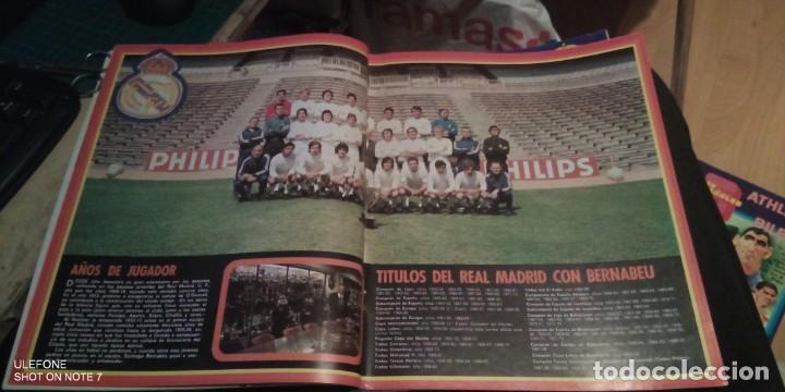 Coleccionismo deportivo: 2 REVISTAs LOS ESPAÑOLES Nº 28. MONOGRÁFICO DEDICADO AL REAL MADRID.y bernabeu numero 9 - Foto 5 - 290130603