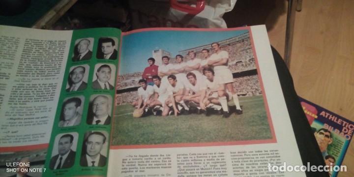 Coleccionismo deportivo: 2 REVISTAs LOS ESPAÑOLES Nº 28. MONOGRÁFICO DEDICADO AL REAL MADRID.y bernabeu numero 9 - Foto 6 - 290130603