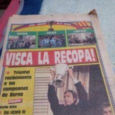 Coleccionismo deportivo: LA RECOPA DE BERNA. 1989. F.C. BARCELONA. Lote 290136203
