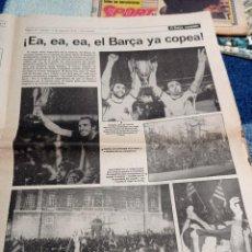 Coleccionismo deportivo: FINAL BASILEA. 1979. TELE EXPRESS.. Lote 290136518