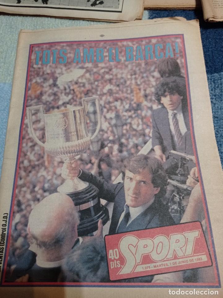FINAL COPA DEL REY 1983. MARADONA. BARÇA (Coleccionismo Deportivo - Revistas y Periódicos - otros Fútbol)