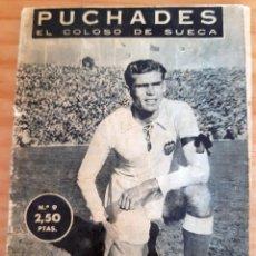 Coleccionismo deportivo: PUCHADES - ÍDOLOS DEL DEPORTE - 9 - AÑO 1958. Lote 291531078