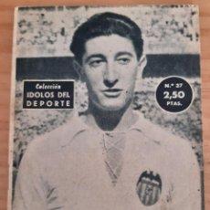 Coleccionismo deportivo: QUINCOCES - ÍDOLOS DEL DEPORTE - N.º 37 - AÑO 1958. Lote 291532273