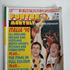 Coleccionismo deportivo: REVISTA FOOTBALL EXTRA MUNDIAL ITALIA 90 ALEMANIA CAMPEON DEL MUNDO JULIO DE 1990. Lote 292358018