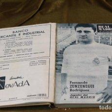 Coleccionismo deportivo: REVISTA DEL REAL MADRID, AÑO 1967, COMPLETO, ENCUADERNADA EN TELA. Lote 292412258