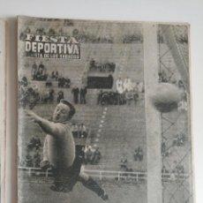 Coleccionismo deportivo: REVISTA FIESTA DEPORTIVA, LA REVISTA DE LOS SABADOS, AÑO I - NUMERO 5 - 1960 - ELCHE POSTER. Lote 292597743