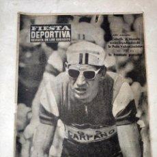 Coleccionismo deportivo: REVISTA FIESTA DEPORTIVA - AÑO 1 - NUMERO 22 - 17 DE JULIO DE 1960. Lote 293341388