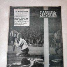 Coleccionismo deportivo: REVISTA FIESTA DEPORTIVA - AÑO 1 - NUMERO 42 - 3 DICIEMBRE DE 1960 - VALENCIA CF, ETC. Lote 293345548