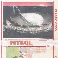 Coleccionismo deportivo: DVD FÚTBOL-8º FINAL RECOPA EUROPA 76/77(VUELTA)HAJDUK SPLIT-AT.MADRID. Lote 294020723