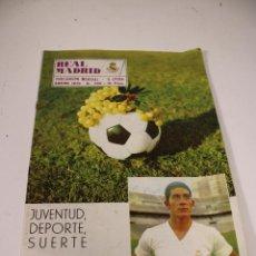 Coleccionismo deportivo: REVISTA REAL MADRID N° 236 ENERO DE 1970. Lote 294075753