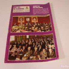 Coleccionismo deportivo: REVISTA REAL MADRID N° 245 OCTUBRE DE 1970. Lote 294077718