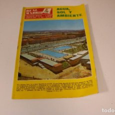 Coleccionismo deportivo: REVISTA REAL MADRID N° 231 AGOSTO DE 1969. Lote 294077978