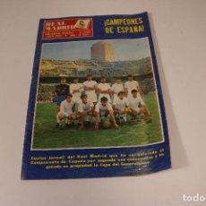 Coleccionismo deportivo: REVISTA REAL MADRID N° 230 JULIO DE 1969. Lote 294078538