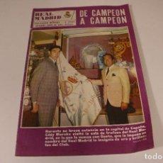 Coleccionismo deportivo: REVISTA REAL MADRID N° 234 NOVIEMBRE DE 1969. Lote 294079283