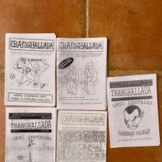 Coleccionismo deportivo: LOTE 5 FANZINES TRANGHALLADA SIAREIROS GALEGOS CORUÑA GALICIA. Lote 296577248