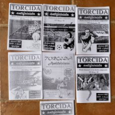 Coleccionismo deportivo: LOTE 7 FANZINES TORCIDA ANTIFEIXISTA ULTRA ANTIFASCISTA. Lote 296579523