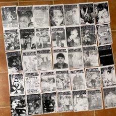 Coleccionismo deportivo: LOTE 35 FANZINES MUTANTES PAMPLIN GIJÓN. Lote 296583233