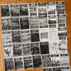 Coleccionismo deportivo: LOTE 38 FANZINES HERCULIGANS-BLANC I BLAU-FUERZA BLANQUIAZUL-ALAKANT NORD-ULTRAS HERCULES. Lote 296584378