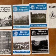 Coleccionismo deportivo: LOTE 7 FANZINES ULTRAS DEPORTIVO ESPAÑOL-ULTRAS ESPAÑOL-NORTH SUPPORTER-BRIGADAS BLANQUIAZULES. Lote 296585733