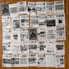 Coleccionismo deportivo: LOTE 35 FANZINES ULTRA CADIZ-NORTE TROMPETERO-BRIGADAS AMARILLAS. Lote 296588968