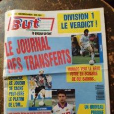 Coleccionismo deportivo: BUT, LA PASSION DU FOOT N° 4410 (4 JUIN 1993). Lote 297118688