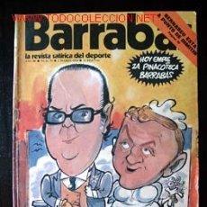 Coleccionismo deportivo: BARRABÁS - LA REVISTA SATÍRICA DEL DEPORTE, Nº 75 DEL 5 MARZO 1974. . Lote 16816896