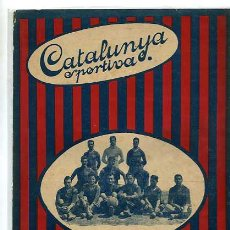 Collectionnisme sportif: CATALUNYA SPORTIVA EDITADA EN FECHA 19-5-1920. Lote 4997251