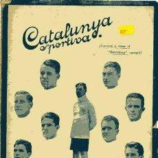 Collectionnisme sportif: CATALUNYA SPORTIVA EDITADA EN FECHA 5-10-1920. Lote 4997278