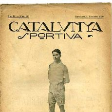 Collectionnisme sportif: CATALUNYA SPORTIVA EDITADA EN FECHA 11-9-1919. Lote 4997293