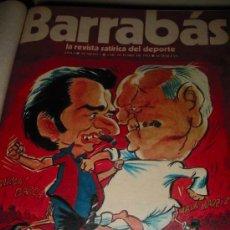 Coleccionismo deportivo: BARRABÁS (REVISTA SATIRICO DEPORTIVA) DESDE Nº1 AL Nº242 DESDE EL 3/10/1972 AL 24/5/1977. Lote 26889398