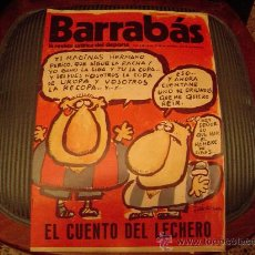 Coleccionismo deportivo: BARRABÁS LA REVISTA SATIRICA DEL DEPORTE. Lote 19977838